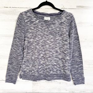 Lou & Grey Marble Knit Sweater - Small